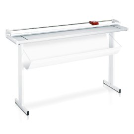 Cutting table, rotary trimmers