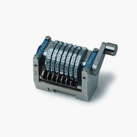 Nummerierwerke für Tiegel,  Zylinder und Druckmaschine,  z.B. GTO