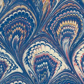 genuine marbled paper matt