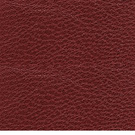 ruby colored goatskin