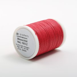 no. linen thread red