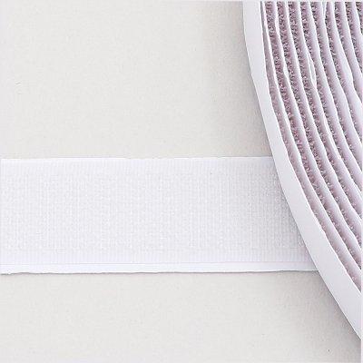 20 mm wei haftband selbstklebend ve 25m f r klettverschluss. Black Bedroom Furniture Sets. Home Design Ideas