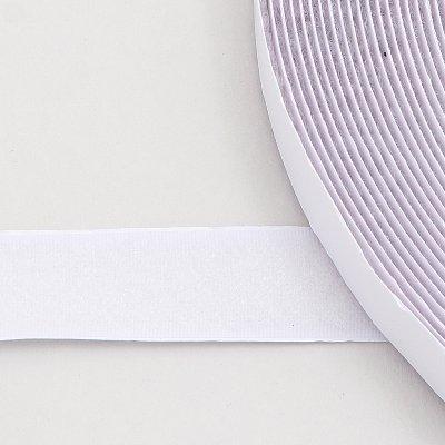 25 mm wei flauschband selbstklebend ve 25m f r klettverschluss. Black Bedroom Furniture Sets. Home Design Ideas