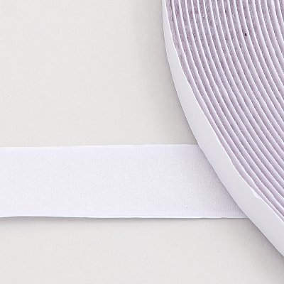 mm loop tape white