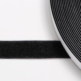 mm schwarz Flauschband