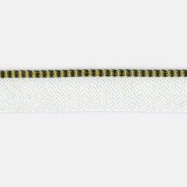 8878/949 gelb-schw.Kapitalband
