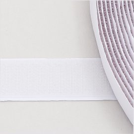 16mm hook tape white