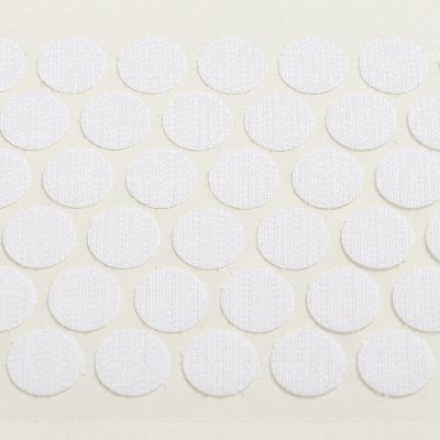 mm hook coin, self-adhesive
