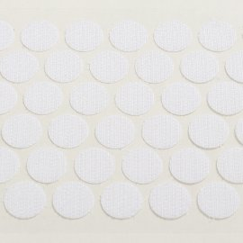 15mm hook coin, self-adhesive