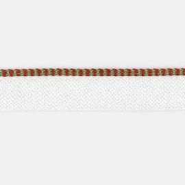 8878/913 grün-rot Kapitalband