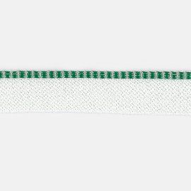 8878/91a grün-weiß Kapitalband