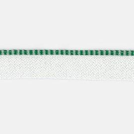 /a grün-weiß Kapitalband