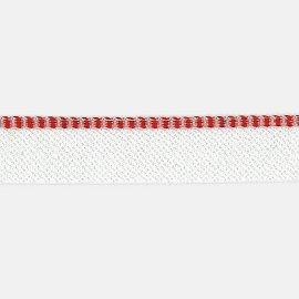 8878/95 rot-weiß Kapitalband