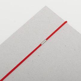 Gummischnüre 2mm rot VE=100St
