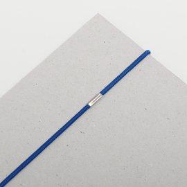 Gummischnüre mm blau VE=St