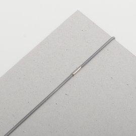 Gummischnüre 2mm grau VE=100St
