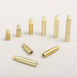 Extensions for book binding screws