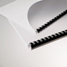 Plastikbinder.USA *mm,Schwarz