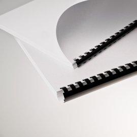 Plastikbinder.USA  *8mm, Schwz