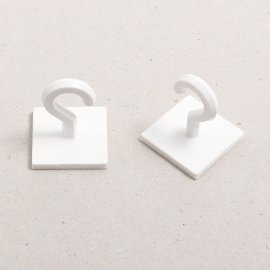 ceiling hanging button white