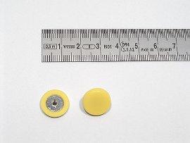 Plakatbutton gelb    14 mm