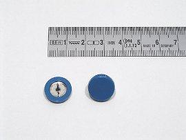 Plakatbutton blau    14 mm