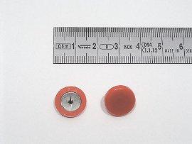 Plakatbutton rot     14 mm