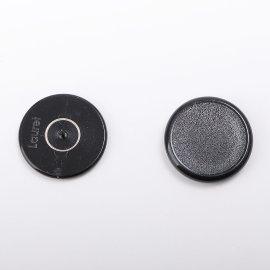 Plakatbutton schwarz 30 mm