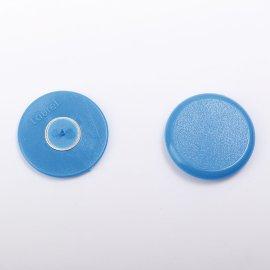 Plakatbutton blau    30 mm