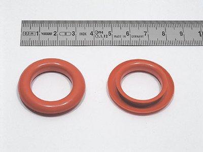 ring for finger hole, plastic