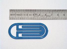 date indicator blue, curved