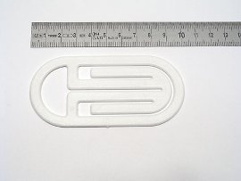 date indicator white, curved