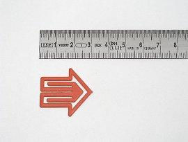 Datumsreiter 30mm, Pfeil