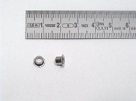 25 vernick.Ösen D=6,6 d1=4,7mm