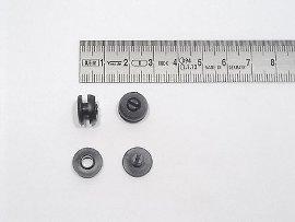 Druck-Niete Kunststoff FH 3 mm