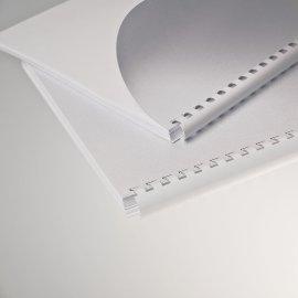 Plastikbind.USA Oval*mm Weiß