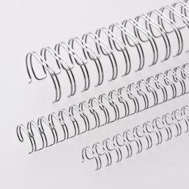 Ring-Wire Silber matt A 4 Teilung 3:1