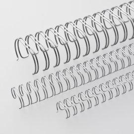 Ring-Wire Silber glänzend A 4 Teilung 2:1