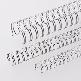 Ring-Wire Silber matt A 4 Teilung 2:1