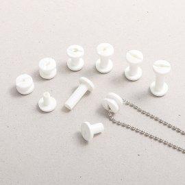 10mm durchbohrte Kunststoff-