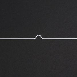 Kalenderaufhänger für Ring-Wire Bindungen weiss