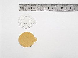 CD-Clip, weiß, Kunststoff