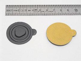 CD-Clip, schwarz Kunststoff