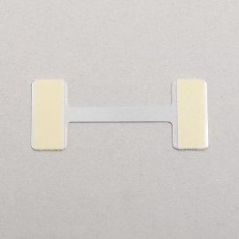 Schildhalter Metall, breit
