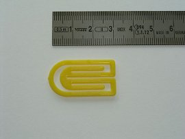 date indicator yellow