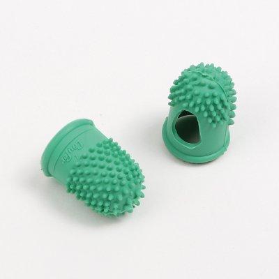 rubber finger green