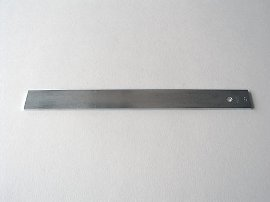mm Lineal aus Eisen