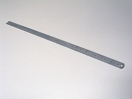 ruler mm stainless steel
