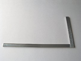 angle iron for bookbinders