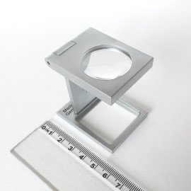 Fadenzähler bikonvex ,mm Ø